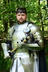 Chris in Armor